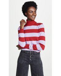 Stella Jean - Striped Turtleneck - Lyst
