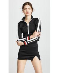 Pam & Gela | Dress With Sports Stripe | Lyst
