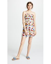Glamorous - Smocked Fruit Dress - Lyst
