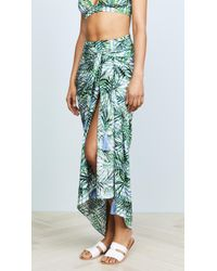 Red Carter - Palm Party Sarong - Lyst
