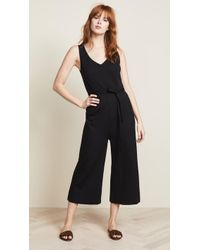 Three Dots - Sleeveless Ponte Jumpsuit - Lyst