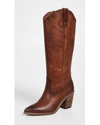 Frye - Faye Pull On Boots - Lyst