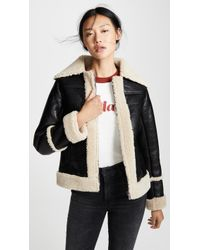 Mother - The Boxy Zip Moto - Lyst