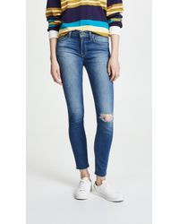Hudson Jeans - Nico Mid Rise Ankle Jeans - Lyst