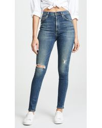 Citizens of Humanity - Chrissy Uber High Rise Skinny Jeans - Lyst