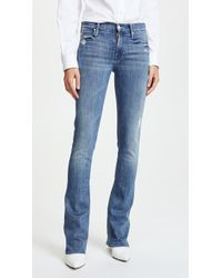 Mother - Runaway Skinny Flare Jeans - Lyst