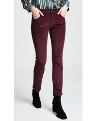 James Jeans - High Rise Ankle Straight Jeans - Lyst