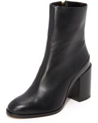 Dear Frances - Spirit Leather Ankle Boots - Lyst