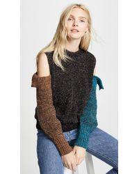 Nude - Round Neck Sweater - Lyst