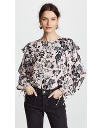 Parker - Finch Blouse - Lyst
