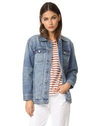 Madewell - Oversized Jean Jacket - Lyst