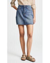 Madewell - Vintage Reworked Skirt - Lyst