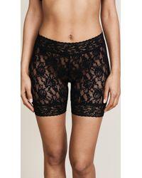 Hanky Panky - Signature Lace Biker Shorts (black) Women's Underwear - Lyst