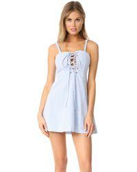 Solid & Striped - Staud Catalina Dress - Lyst