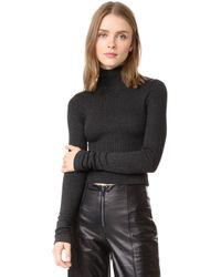 Getting Back to Square One - The Turtleneck Sweater With Patches - Lyst
