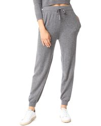 MILLY - Cashmere Joggers - Lyst