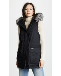 Woolrich - Military Long Vest - Lyst