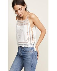 Free People - Garden Party Cami Blouse - Lyst