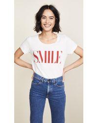 Sol Angeles - Smile Crew Tee - Lyst