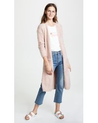 BB Dakota - Lovefool Eyelash Yarn Cardigan - Lyst