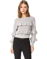 English Factory - Ruffle Jumper - Lyst