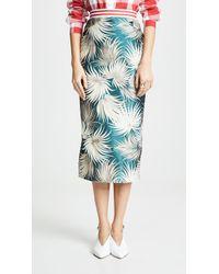 Stella Jean - Floral Midi Skirt - Lyst