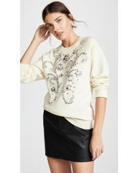 Paco Rabanne - Sweatshirt With Embroidery - Lyst