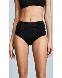 Vitamin A - Onyx High Waist Bikini Bottoms - Lyst