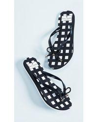Kate Spade - Nova Printed Flip Flops - Lyst