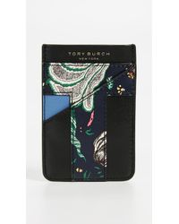 Tory Burch - Floral Card Pocket Case - Lyst