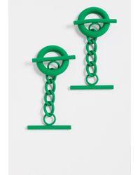 Monse - Cufflink Earrings - Lyst
