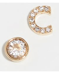 Kate Spade - One In A Million Pave Stud Earrings - Lyst