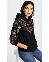 Needle & Thread - Cross Stitch Flower Hoody - Lyst