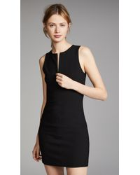 Elizabeth and James | Cullin Dress With Zip Placket | Lyst