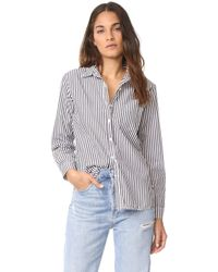 Stateside - Oxford Shirting Button Down - Lyst