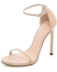 Stuart Weitzman - Nudist 110mm Sandals - Lyst
