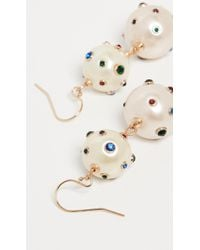 Lulu Frost Boboli Double Drop Earrings