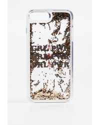 Rebecca Minkoff - Glitterfall Iphone 7 Plus/8 Plus Case - Lyst