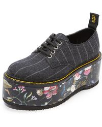 R13 - Double Stack Oxfords - Lyst