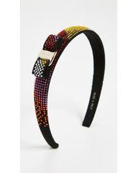Ferragamo - Crystal Rainbow Headband - Lyst