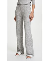 BB Dakota | Brushed Knit Wide Leg Trousers | Lyst