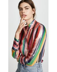 Alice + Olivia - Willa Blouse - Lyst