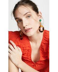 Elizabeth Cole - Mala Earrings - Lyst