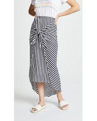 Splendid - X Margherita Isola Sarong Skirt - Lyst