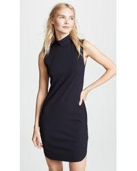 Lanston - Turtleneck Mini Dress - Lyst