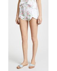 Wildfox - Patchwork Floral Shorts - Lyst