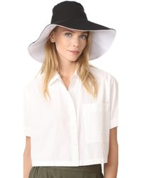 Hat Attack | Canvas Reversible Sunhat | Lyst
