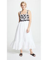 Carolina K - Terry Embroidered Dress - Lyst