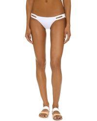 Vitamin A - Neutra Hipster Bikini Bottoms - Lyst
