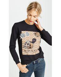 COACH - X Disney Signature C Sweatshirt - Lyst